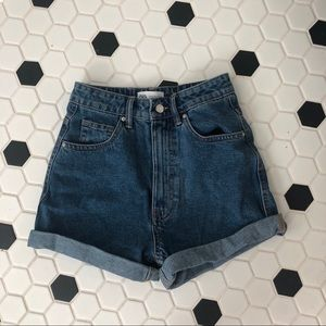 Zara mom fit shorts